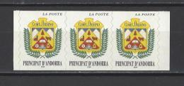 ANDORRE. YT 502 Neuf ** Série Courante. Blason 1998 - Unused Stamps