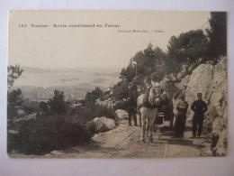 19112016-  83   - TOULON -  ROUTE CONDUISANT AU FARON   - - Toulon