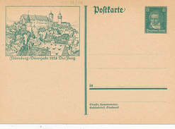 DR - 1927 , Beethoven - BPK  Nürnberg Die Burg - Duitsland