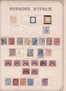 Italie - Collection Vendue Page Par Page - Timbres Neufs * (avec Charnière) / Oblitérés - Qualité B/TB - Italien