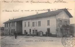 01 - AIN - Nurieux - Hôtel De La Gare Et La Poste - Francia