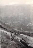 09 - TELEPHERIQUE DU SAQUET : Avec Vue Sur AX Dans Le Le Lointain - CPSM Dentelée Noir Blanc GF 1957 - Ariège - France