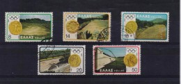 GREECE STAMPS MOSCOW OLYMPIC GAMES-11/8/80-USED -COMPLETE SET - Griechenland