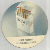 Tapis De Souris Ou Ramasse Monnaie , Bureau Ou Tabac , NEWS , Cigarettes , 20 Filter , Frais Fr : 2.70€ - Autres Collections
