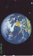 Télécarte Japon ESPACE (841)  GLOBE * SATELLITE * TERRESTRE * MAPPEMONDE * Telefonkarte Phonecard JAPAN * - Espacio