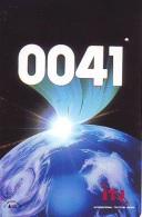 Télécarte Japon ESPACE (842)  GLOBE * SATELLITE * TERRESTRE * MAPPEMONDE * Telefonkarte Phonecard JAPAN * - Espacio