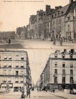 Ille Et Vilaine : Rennes : Lot De 2 Cartes - Rennes