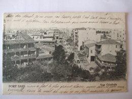 19112016 -  EGYPTE   -  PORT SAID  -   VUE GENERALE - Port Said