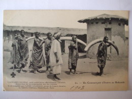 19112016 - CONGO   -  UN COMMERCANT D'IVOIRE AU BUKUMBI  - - Congo Français - Autres