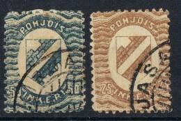 Dos Sellos De INGRIE (Inkeri) 1920, Yvert Num 3 Y 4 º - Otros - Europa