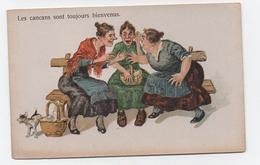 Lot De 3 CP Femmes Entre Elles - Cancans - Dessin - Humour - Humour