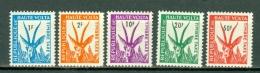 Haute Volta 1962 Yv & T. TX 21/22**, 24/26** , MNH - Haute-Volta (1958-1984)