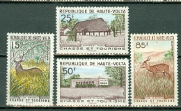 Haute Volta 1962 Yv & T. 99/102** , MNH - Obervolta (1958-1984)