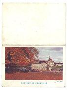 Petit Calendrier 1962, Dépliant, Château De Chantilly - Petit Format : 1961-70