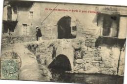 Ax Les Thermes Porte Et Pont D'Espagne Personnage - Ax Les Thermes