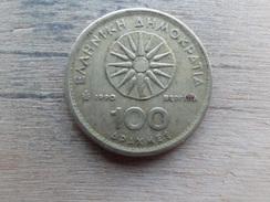 Grece  100  Drachmes   1990  Km 159 - Grèce