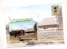 Lettre Entiere 2200 L Maison Natale Brancusi - Postwaardestukken