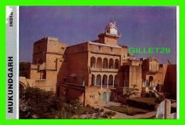MUKUNDGARH, INDE -  THE TYPICAL MEDIEVAL RESIDENCE OF RAJPUT RULERS -  DELTA PUB. - - Inde
