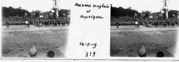 V0319 - PARIS  Fêtes De La Victoire -14.07.1919 - Marins Anglais Et Musique - Original Rare à Saisir - Plaques De Verre