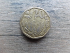 Afrique Du Sud   20  Cents  1994  Km 136