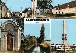 -ref-R966 - Oise -  Liancourt - Souvenir De .. -  Multi Vues - Carte Bon Etat - - Liancourt