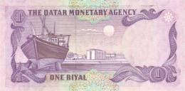 QATAR P. 13b 1 R 1985 UNC - Qatar