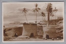 AK Goldküste 1937-10-10 Accra Luftpost Bis Lagos Weiter Nach Berlin - Cartes Postales