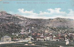 MONTENEGRO - CRNA GORA CETINJE PANORAMA 1907 - Montenegro
