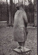 Netherlands PPC L.O. Wenckebach : Monsieur Jacques Bronze 1955 Museum Kröller-Müller, Otterlo Echte Real Photo (2 Scans) - Museen