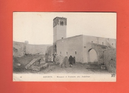 * CPA..TUNISIE..BIZERTE :  Mosquée Et Fontaine Des Andalous..n°90  : Voir 2 Scans - Tunisia