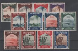 Francobolli Colonie Italiane Tripolitania 2 Mostra Internazionale D'arte MLH/MNH - Tripolitania