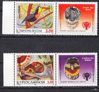 YUGOSLAVIA MI2791 WITH TAB - 1992-2003 Sozialistische Republik Jugoslawien