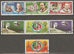 Togo 1971 Mi# 849-855 A Used - Apollo 14 Moon Landing / Space - Togo (1960-...)
