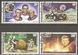 Togo 1973 Mi# 972-975 A Used - Apollo 17 Moon Mission / Space - Africa
