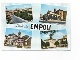 SALUTI DA EMPOLI - 4 VEDUTE NV  FG - Firenze