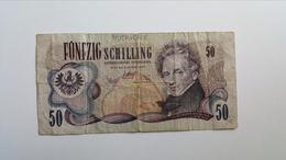 AUSTRIA 50 SHILLING 1970 - Oostenrijk