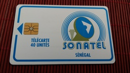 Phonecard Senegal 40 Unites - Senegal