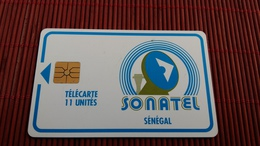 Phonecard Senegal 11 Unites