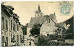 76 VILLEQUIER ++ La Rue De L'Eglise ++ - Villequier