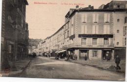 Hérault : Bédarieux : Rue De La République - Bedarieux