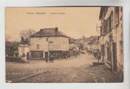 CPSM DONZENAC (Corrèze) - Avenue De Paris - Andere Gemeenten
