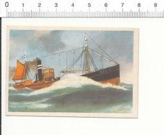 Chromo Cigarettes Virginia / Tjepma MA 2 Stoomfiets Ship Navire Bateau / IM 01-boat-1 - Cigarette Cards