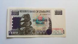 ZIMBABWE 100 DOLLARS 1995 XF - Zimbabwe