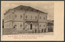 Montenegro-----Cetinje-----old Postcard - Montenegro