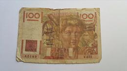 FRANCIA 100 FRANCS 1950 - 100 F 1942-1944 ''Descartes''