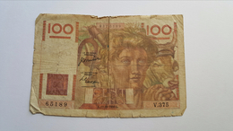 FRANCIA 100 FRANCS 1950 - 1871-1952 Circulated During XXth