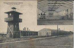 CP - Camp De Prisonniers  Allemagne  - Kriegsgefangenen Lager Ohrdruf Uhrturm Und Kirchenzelt - Guerra 1914-18