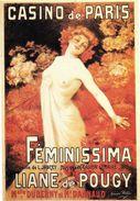 PUBLICITE EDITIONS NUGERON N 8 GEORGES REDON  CASINO DE PARIS LYANE DE POUGY FEMME SEXY SEINS POITRINE - Publicité