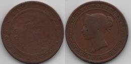 + CEYLON + 5 CENTS 1870 + - Colonies