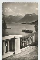 """74 Haute Savoie - Lac D'annecy """" Paysage """" Au Petit Lac 1957 Cachet Sevrier - Annecy"""